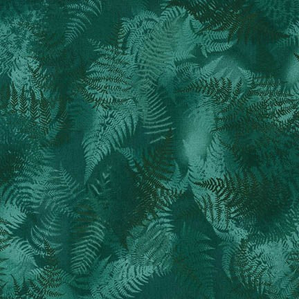 Enchanted Pines Ferns in Emerald
