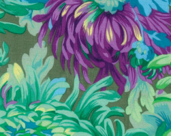 The Kaffe Fassett Collective Shaggy in Aqua by Philip Jacobs