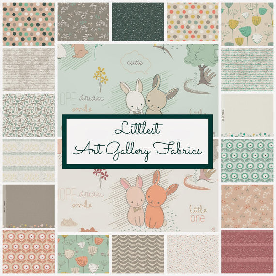 Littlest Furry Tales Sweet Into the RoseWood Fabric