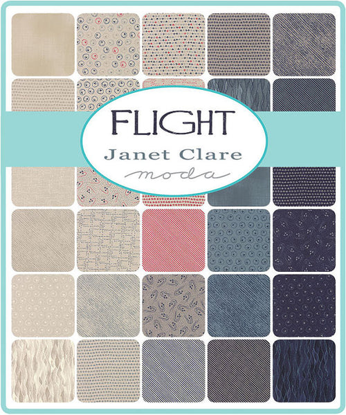 Flight Nice Stripe Indigo Grey