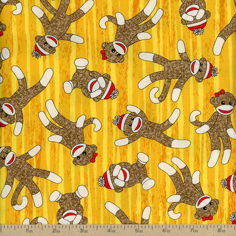 Teleporting Monkeys in Yellow