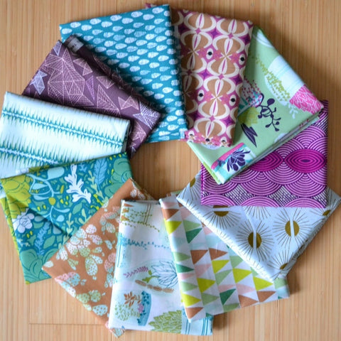 Succulence Fat Quarter or Half Yard Bundle