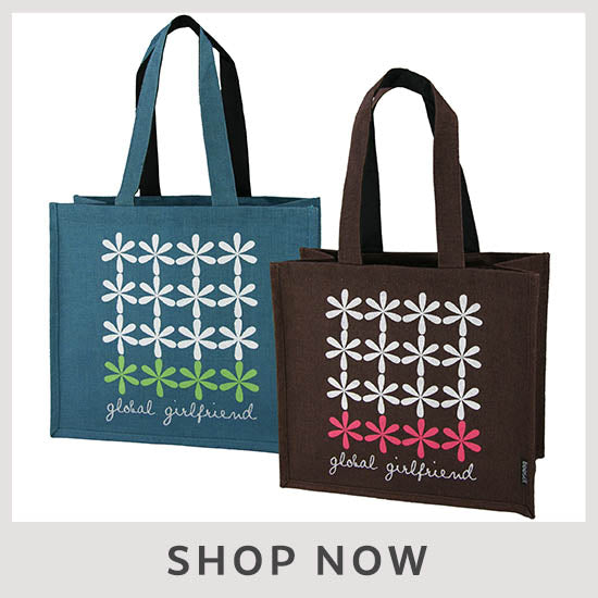 Freeset Flower Tiles Tote - Shop Now