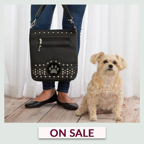 Midnight Bling Paw Purse - On Sale
