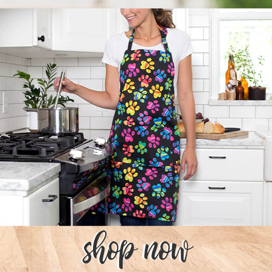 Painted Paws Apron - Shop Now