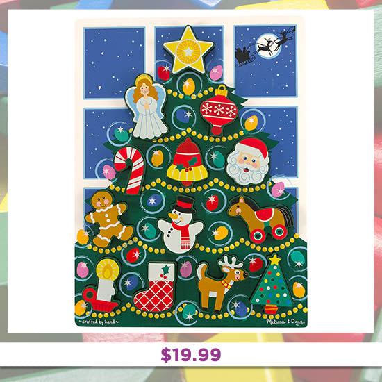 Chunky Holiday Puzzle - $19.99