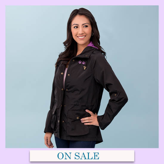 Perfect Layer Paw Print Jacket - On Sale