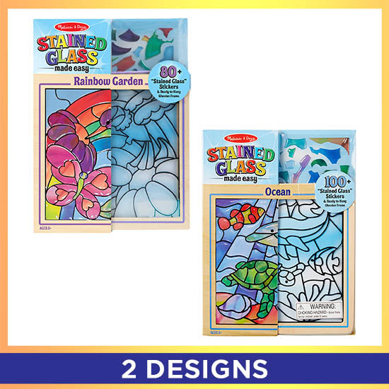 Stained Glass Made Easy Kit - 2 Designs Available