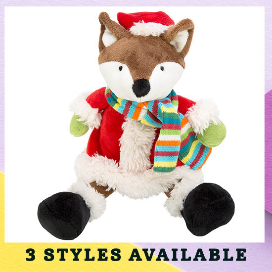Festive Friends Holiday Plush - 3 Styles Available