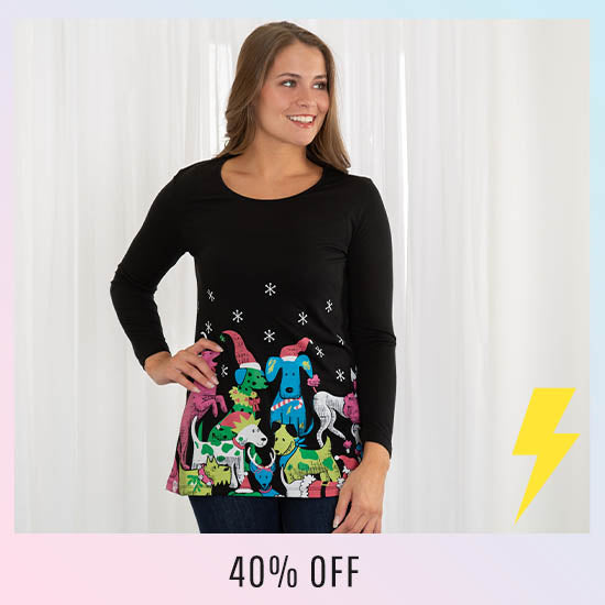 Festive Pet Party Tunic - 40% OFF