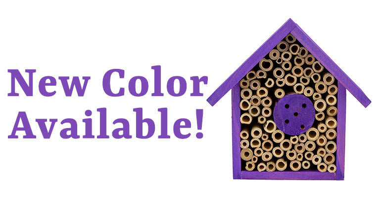 Wooden Bee House | New Color Available