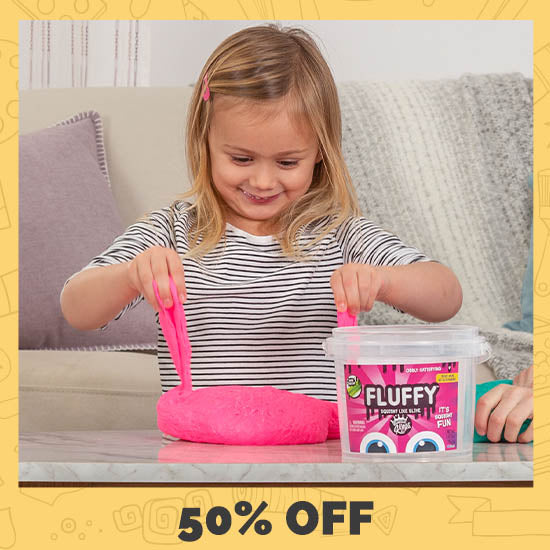 Compound Kings™ Fluffy Slime Bucket - 50% OFF