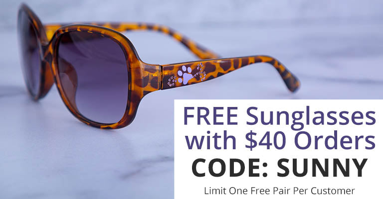 FREE Sunglasses with $40 Orders | Code: SUNNY | Limit One Free Pair Per Customer