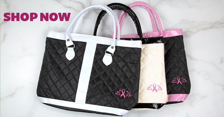 Shop Pink Ribbon Delight Tote Bag Now!
