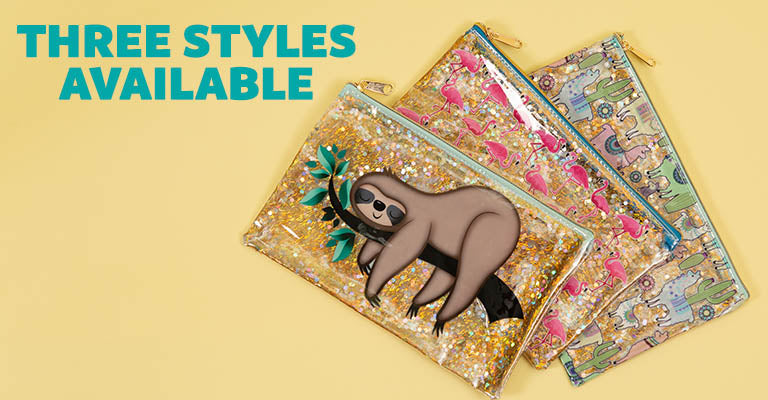 Glitter Critter Makeup Bag | Three Styles Available