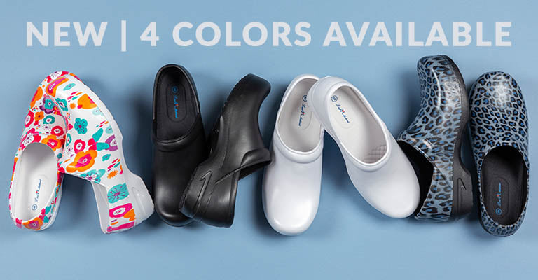 Slip Resistant Clogs | New | 4 Colors Available
