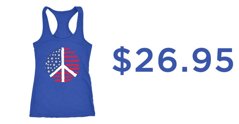 Paws of Peace Tank Top | $26.95