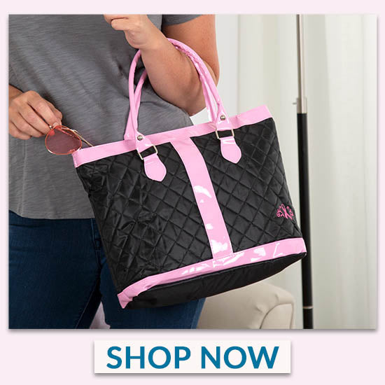 Pink Ribbon Delight Tote Bag - Shop Now
