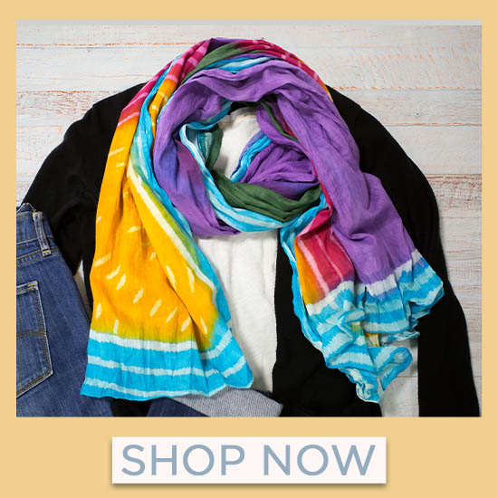 Rainbow Connection Scarf - Shop Now