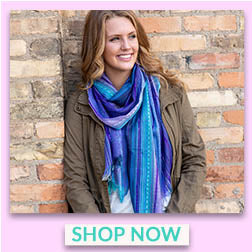 Sky Colors Hand-Loomed Scarf - Shop Now