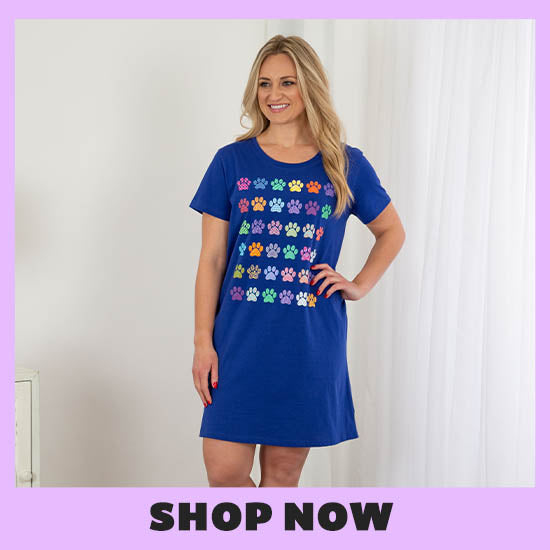 Rainbow Paws Nightgown - Shop Now