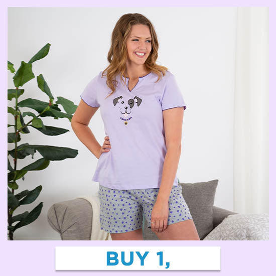 Pet Love Pajama Shorts Set