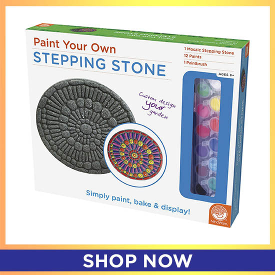 Paint Your Own Stepping Stone - Shop Now