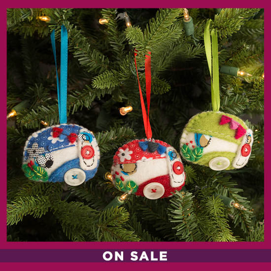 Happy Camper Ornament - On Sale