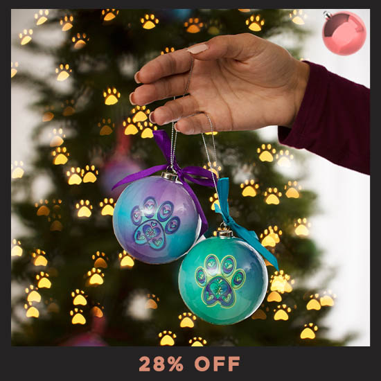 Pawsitively Lovely Ornaments - Set of 6 - 28% OFF