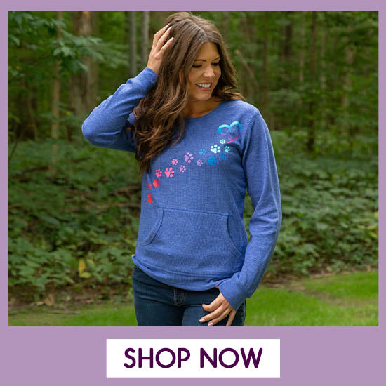Rainbow Paws Thermal Top - Shop Now