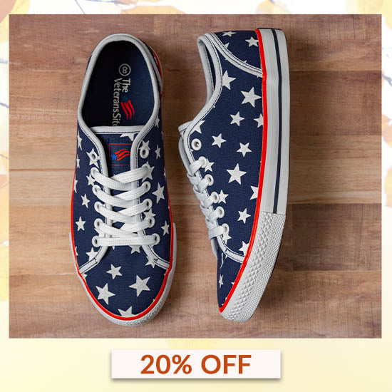 Star Spangled Sneakers - 20% OFF