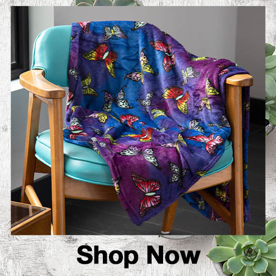 Super Cozy™ Fleece Throw Blanket - Shop Now