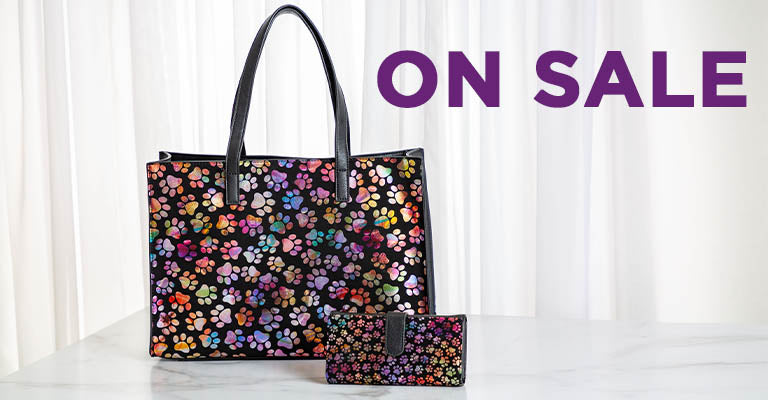 Shimmer Paws Handbag & Wallet Collection | On Sale!