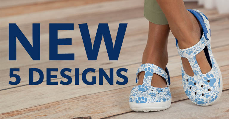 Pawsitively Adorable Mary Jane Clogs | New | 5 Designs