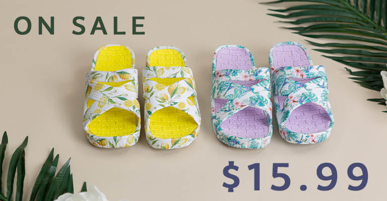 Bright Blooming Criss-Cross Sandals | On Sale! | $15.99