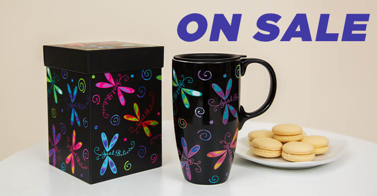 Flights of Fancy Gift Boxed Travel Mug | On Sale!