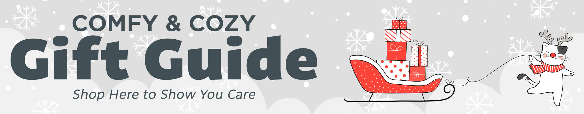 Cozy Gift Guide | Shop Here to Show You Care