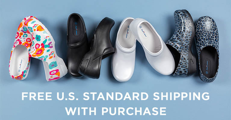 Slip Resistant Clogs | FREE U.S. Standard Shipping with Purchase