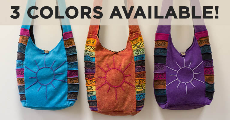Sunshine Daydream Hobo Bag | 3 Colors Available