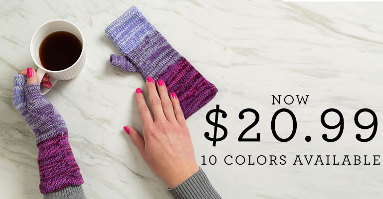 Alpaca Wool Fingerless Mittens | 10 Colors Available | Now $20.99