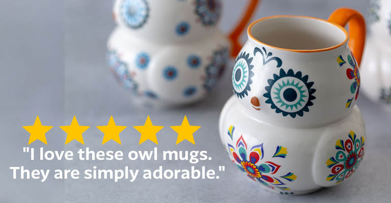Bright Eyed Owl Mug ★★★★★
