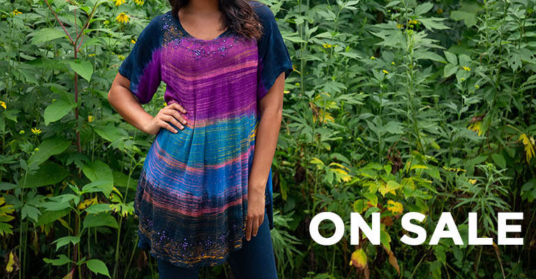 Brushed Sky Tunic | On Sale