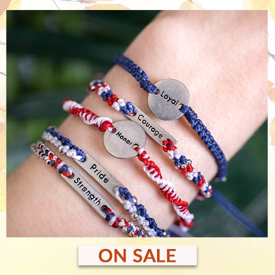 What Makes a Hero Wakami Bracelets - Set of 5 - On Sale