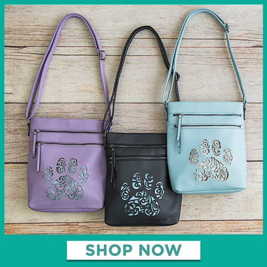 Pawsitively Beautiful Crossbody Bag - Shop Now