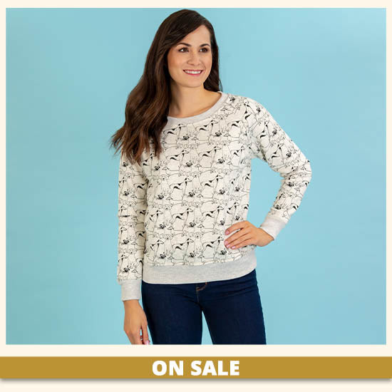 Favorite Friends Crew Neck Sweatshirt - On Sale