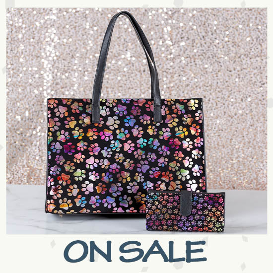 Shimmer Paws Handbag & Wallet Collection - On Sale