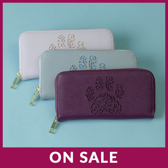 Pawsitively Beautiful Zipper Wallet - On Sale