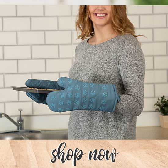 Pawfect Grip Oven Mitt - Set of 2 - Shop Now