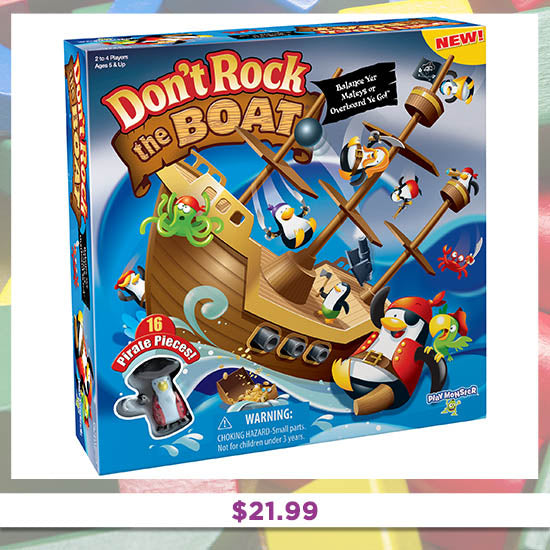 Don't Rock the Boat - $21.99