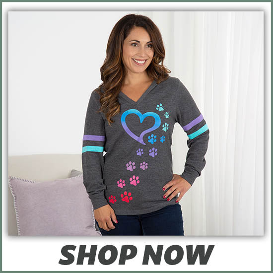 Rainbow Paws Thermal Lightweight Hoodie - Shop Now